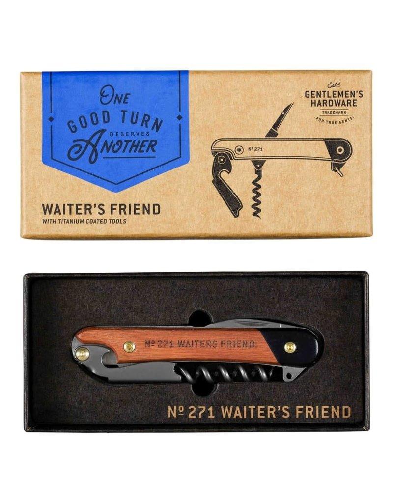 Wild & Wolf corkscrew - waiter's friend