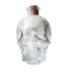 Tobar bottle - skull