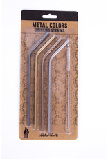 Helio Ferretti metal straws (4 colours)
