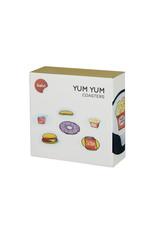 coasters - yum yum