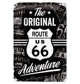 Nostalgic Art sign - the original route 66 (medium)