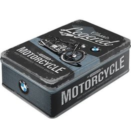 Nostalgic Art tin box - flat - BMW motorcycle