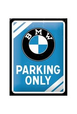 sign - 15x20 - BMW parking only