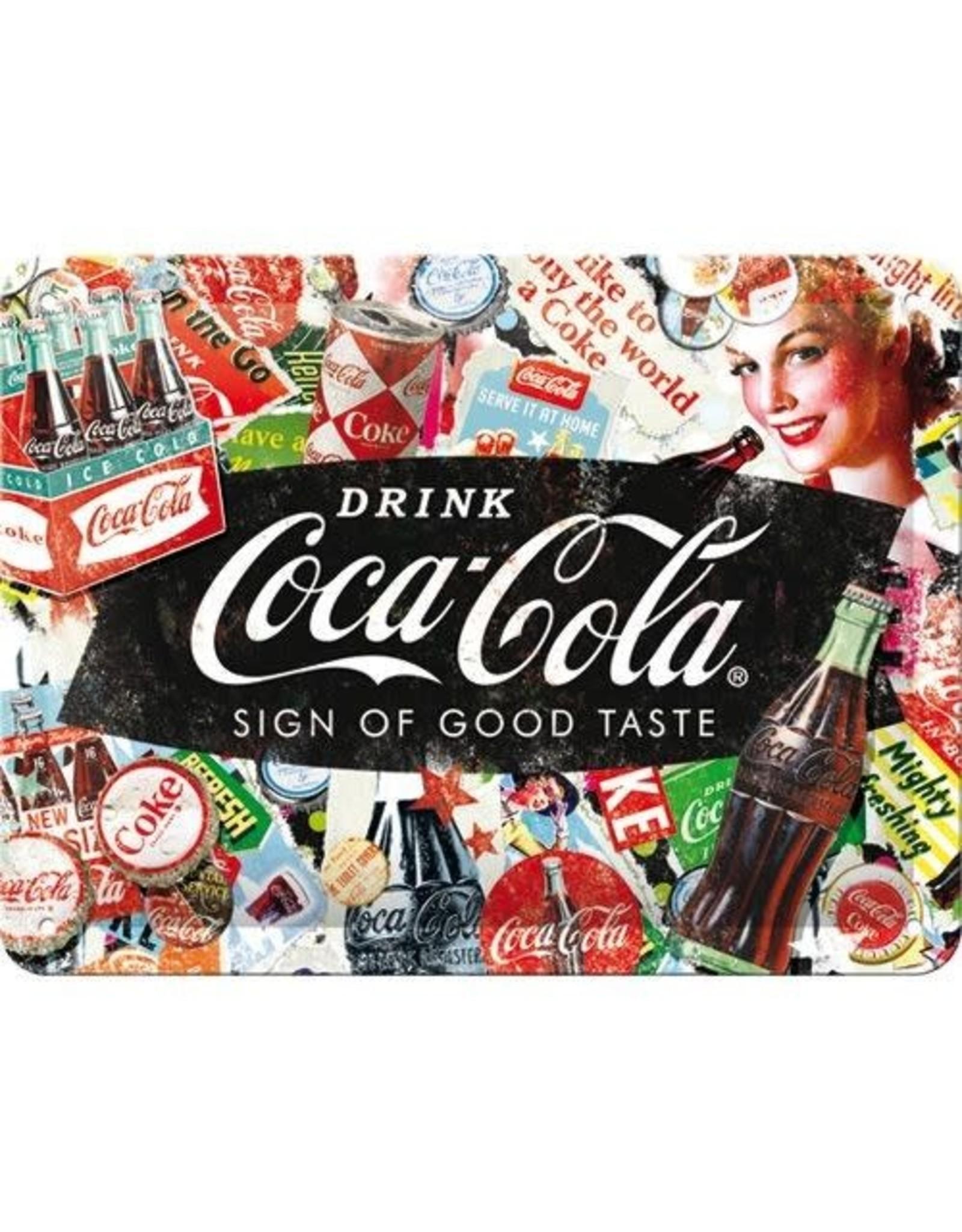 sign - 15x20 - coca cola good taste