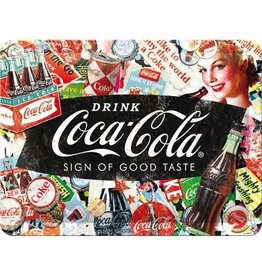 Nostalgic Art bord - coca cola good taste (small)