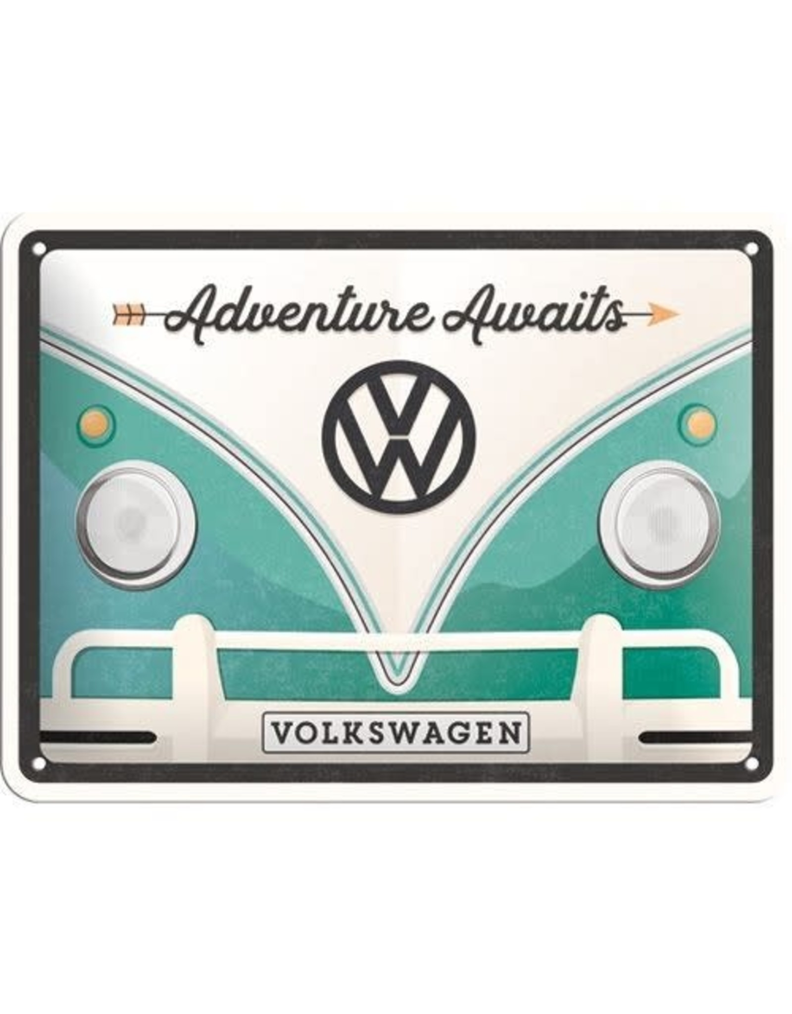 sign - 15x20 - VW adventure awaits