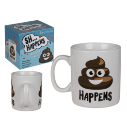 Out Of The Blue mug XL - sh... happens