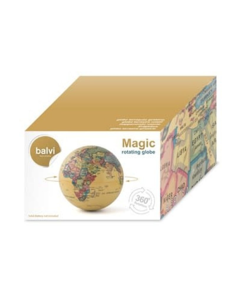 Balvi globe - magic rotatory (brown)