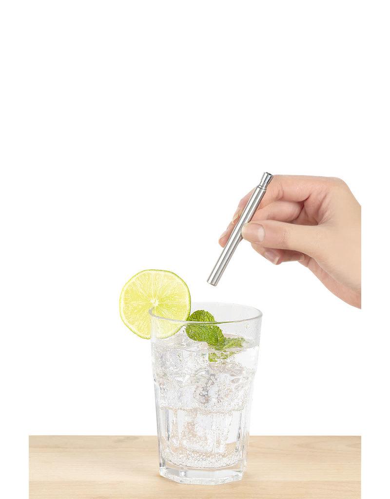 Kikkerland reusable straw - travel