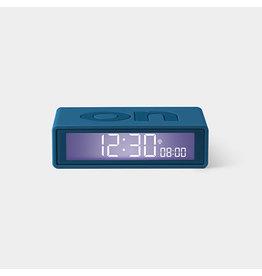 Lexon alarm clock - flip (duck blue)