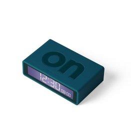 Lexon alarm clock - flip travel (dark blue)