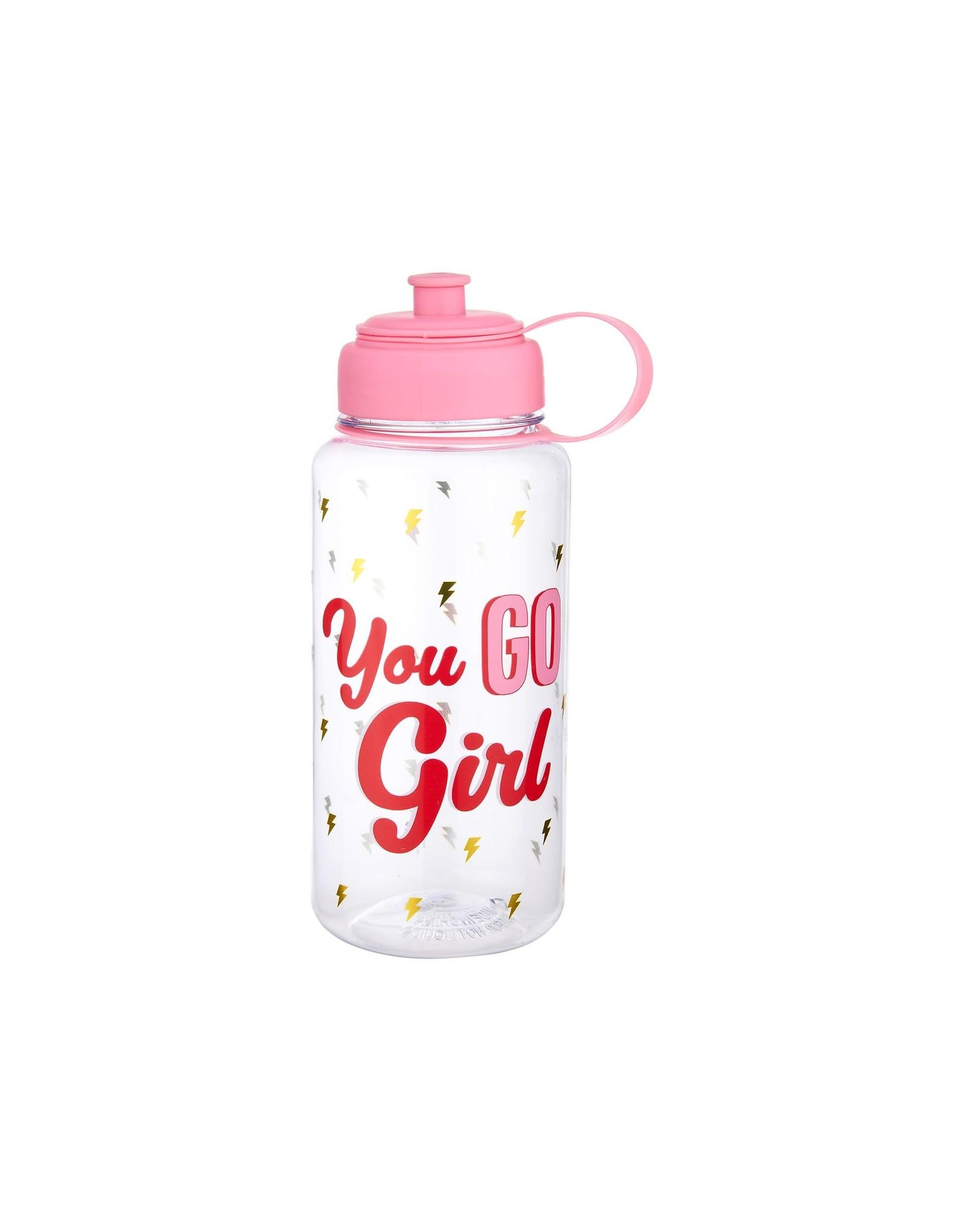 Sass & Belle fles XL - you go girl