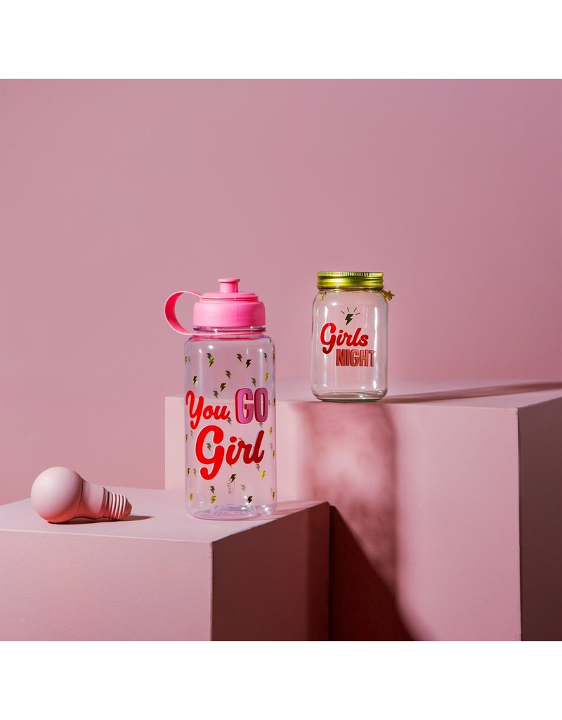Sass & Belle fles XL - you go girl