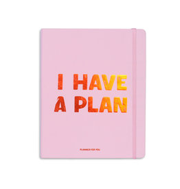 Orner planner - i have a plan (pink/large)