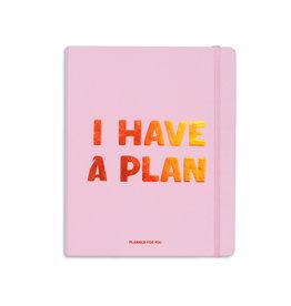 Orner planner - i have a plan (roze/large)