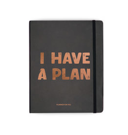 Orner planner - i have a plan (black/large)
