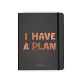 Orner planner - i have a plan (zwart/large)