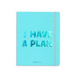 Orner planner - i have a plan (blauw/large)