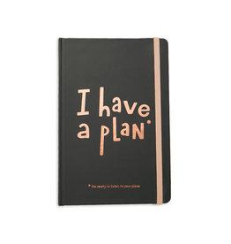 Orner planner - i have a plan (zwart/small)