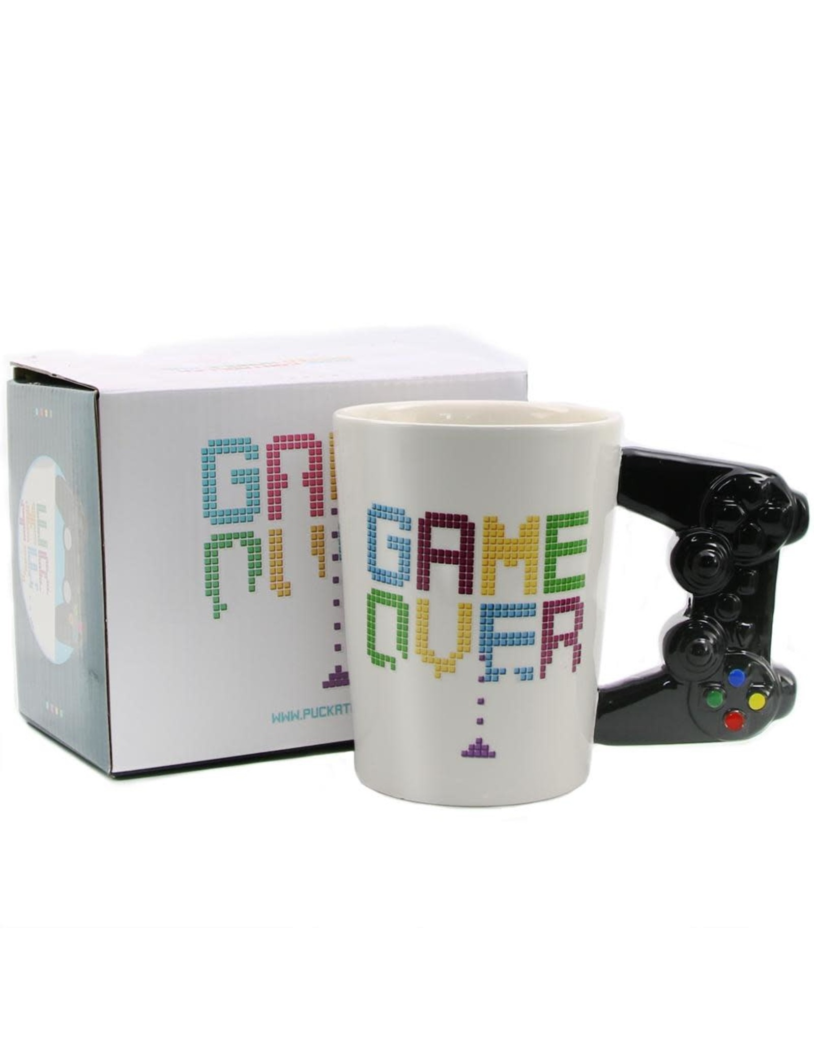 Out Of The Blue mug - controller handle