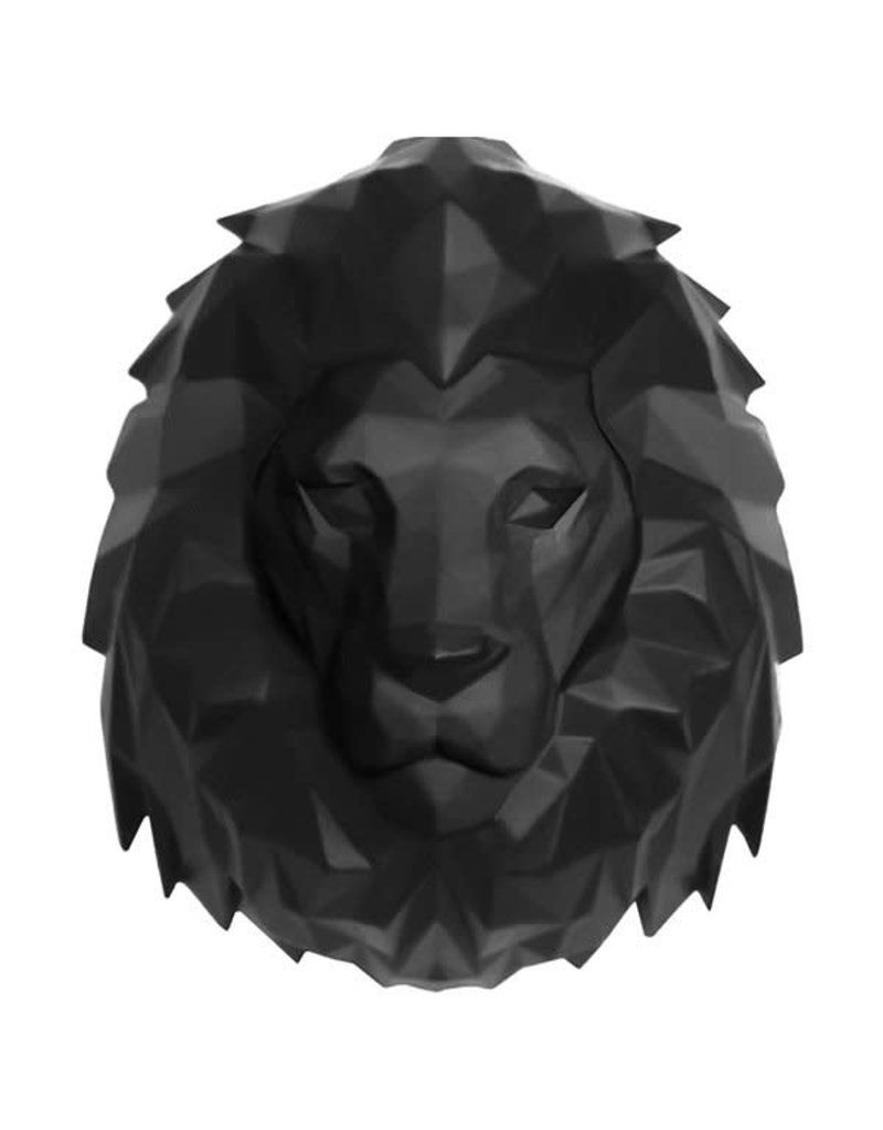 wall hanger - origami - lion