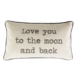 Sass & Belle pillow - love you to the moon and back