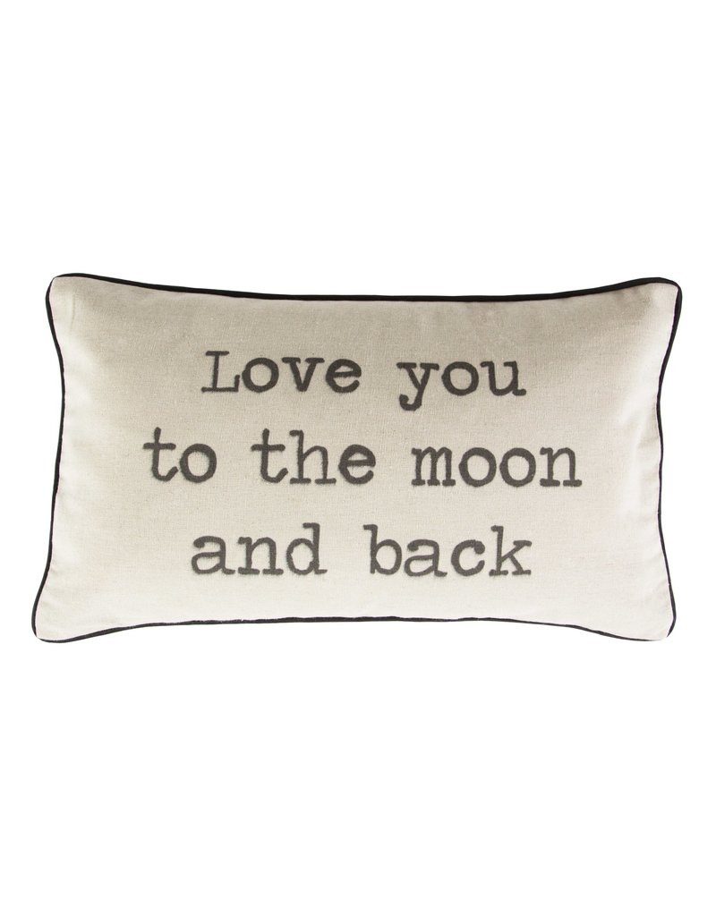 Sass & Belle kussen - love you to the moon and back