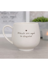 Jones Home & Gift mug -  friends are angels in disguise