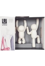 Umbra hooks - buddy (white)