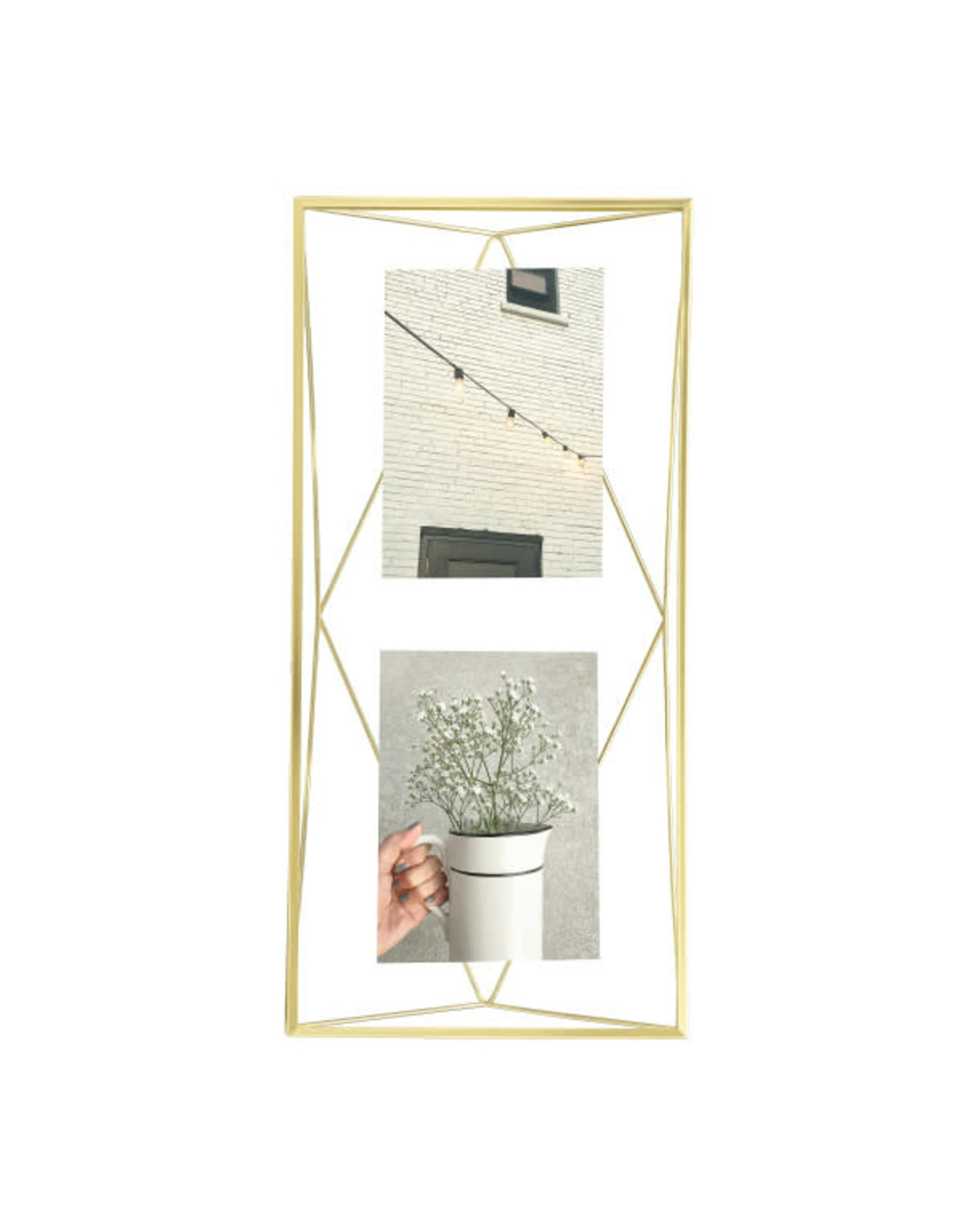Umbra multi photo frame - prisma (gold)
