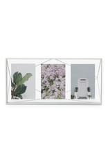 Umbra multi photo frame - prisma (white)