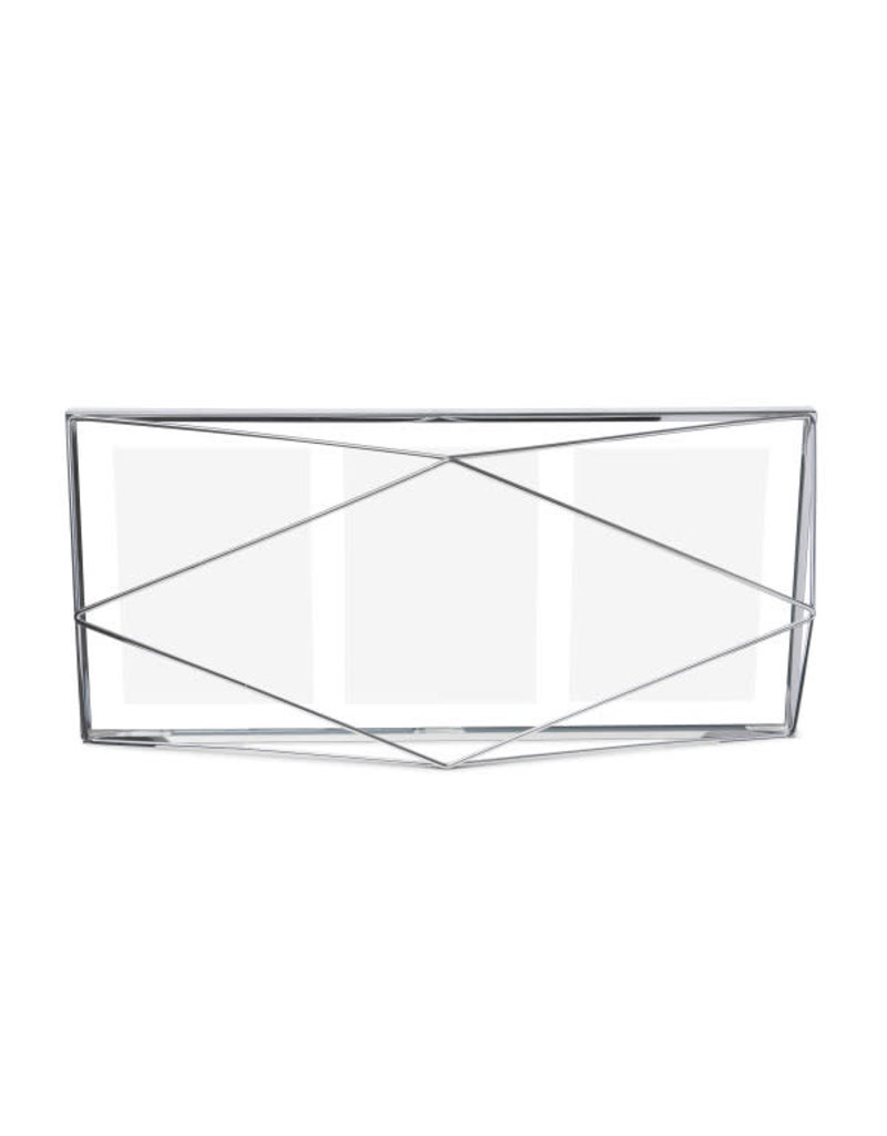 Umbra multi fotokader multi - prisma (chrome)