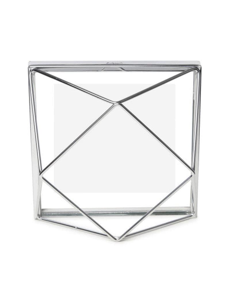Umbra fotokader - prisma 10x10 (chrome)