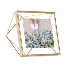 Umbra fotokader - prisma 10x10 (goud)