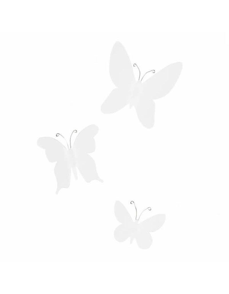 Umbra muurdeco - mariposa (wit)