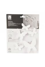Umbra wall deco - mariposa (white)