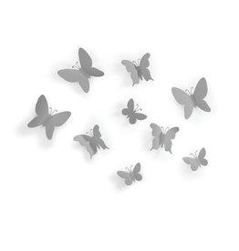 Umbra wall deco - mariposa (grey)
