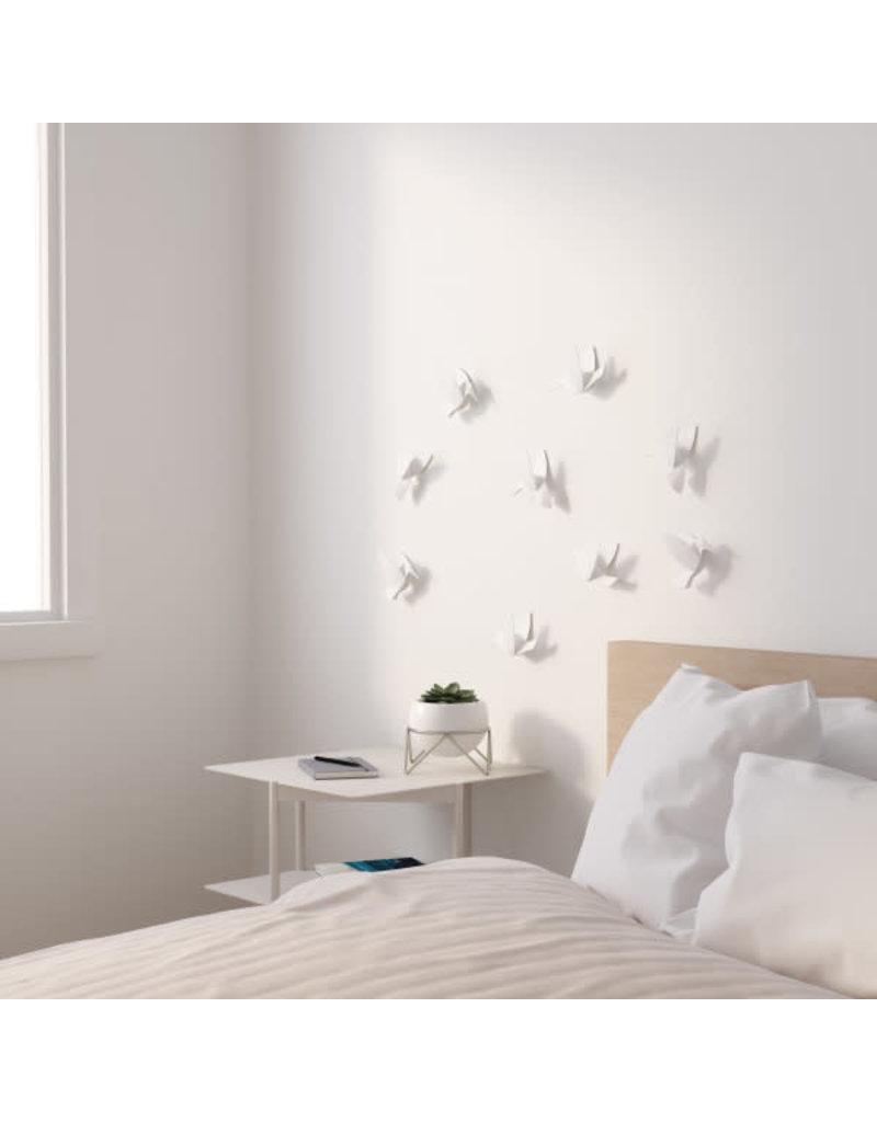 Umbra wall deco - hummingbird (white)
