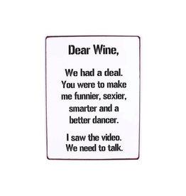 La Finesse bord - dear wine, we had a deal..