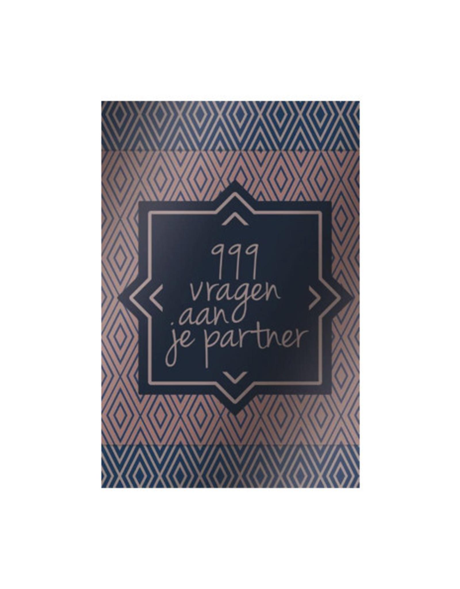 book - 999 vragen aan je partner