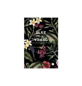 book - elke dag een vraag (botanical)