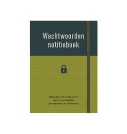 Deltas boek - wachtwoorden notitieboek