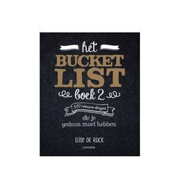 Lannoo bucket list - boek 2 - 500 nieuwe dingen