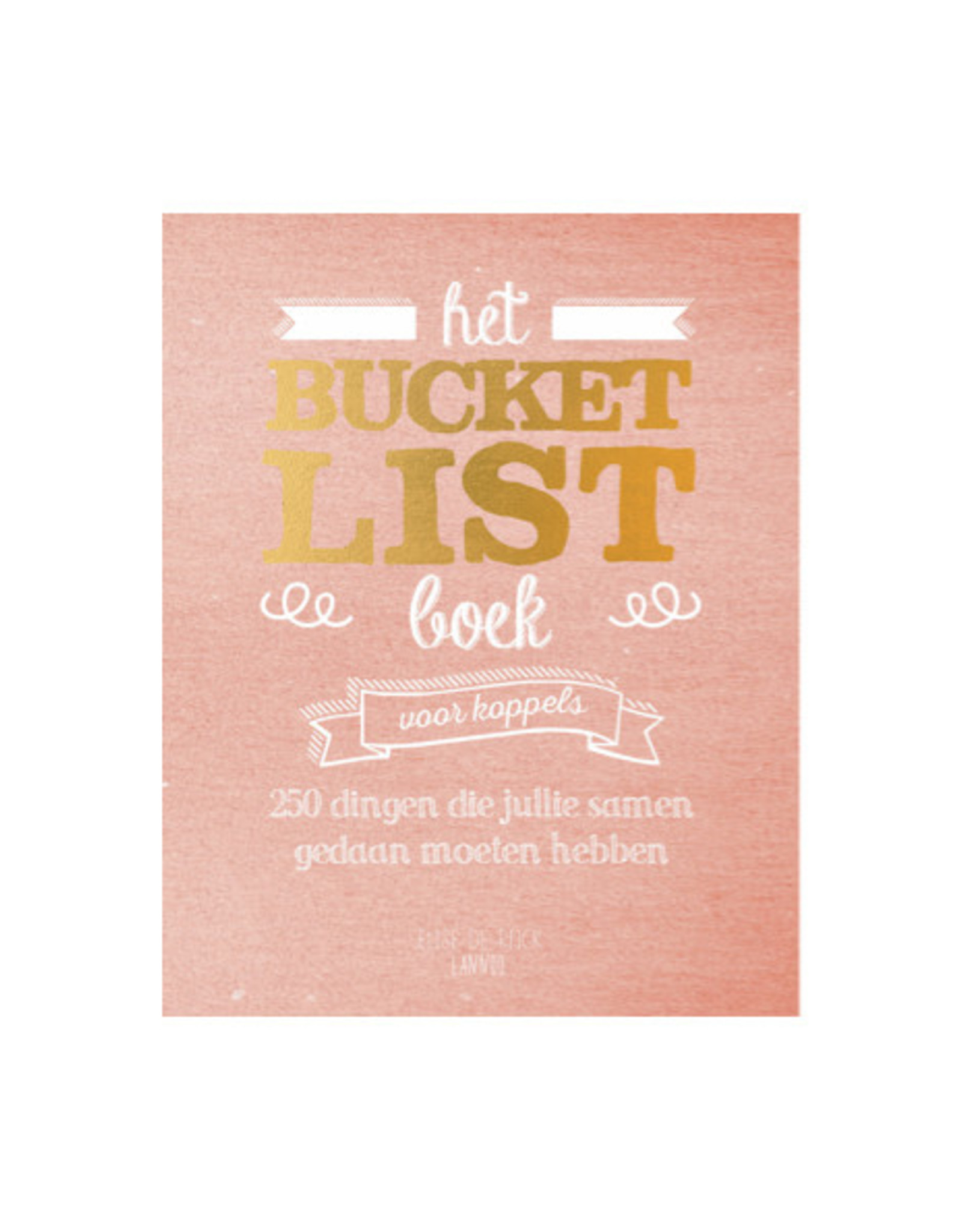 Lannoo bucket list book - couples