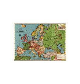 Cavallini decoratieve poster - Europe map 3