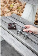 shot glasses - leather case