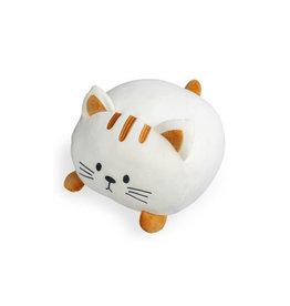 kussen - kitty (wit)