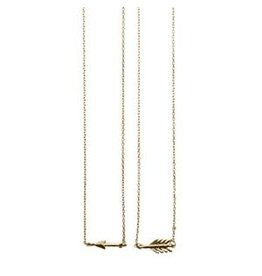 Timi necklaces - broken arrow (gold)