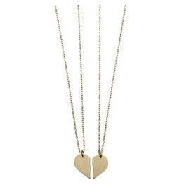 Timi necklaces - broken heart (gold)