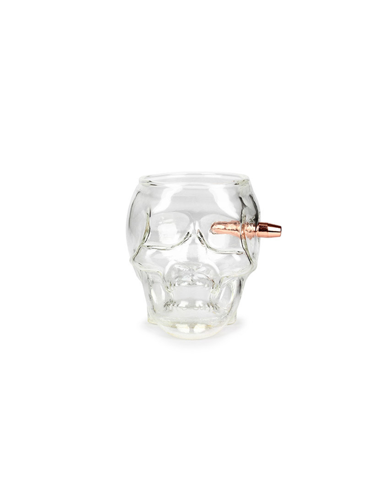 Barbuzzo drinkglas - last man standing skull